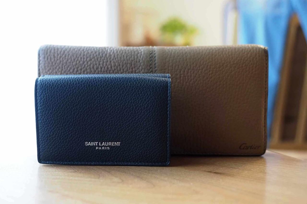 財布,サンローラン,メンズ,レディース,三つ折り,ミニマル,小さい,コンパクト,Saint Laurent,ミニ