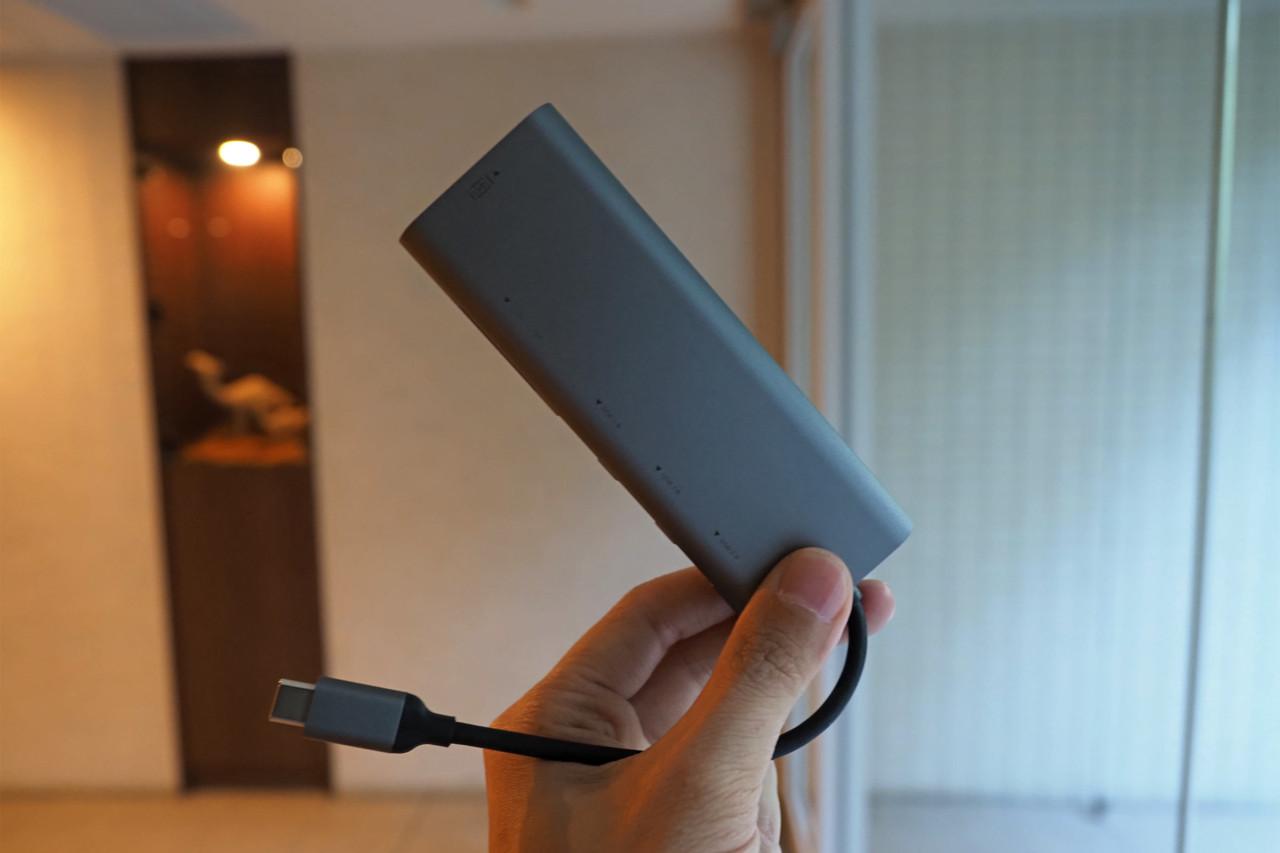 USB-Cハブ,MacBook Pro,パソコン,ガジェット,HDMI,USB3.0,小型,おすすめ