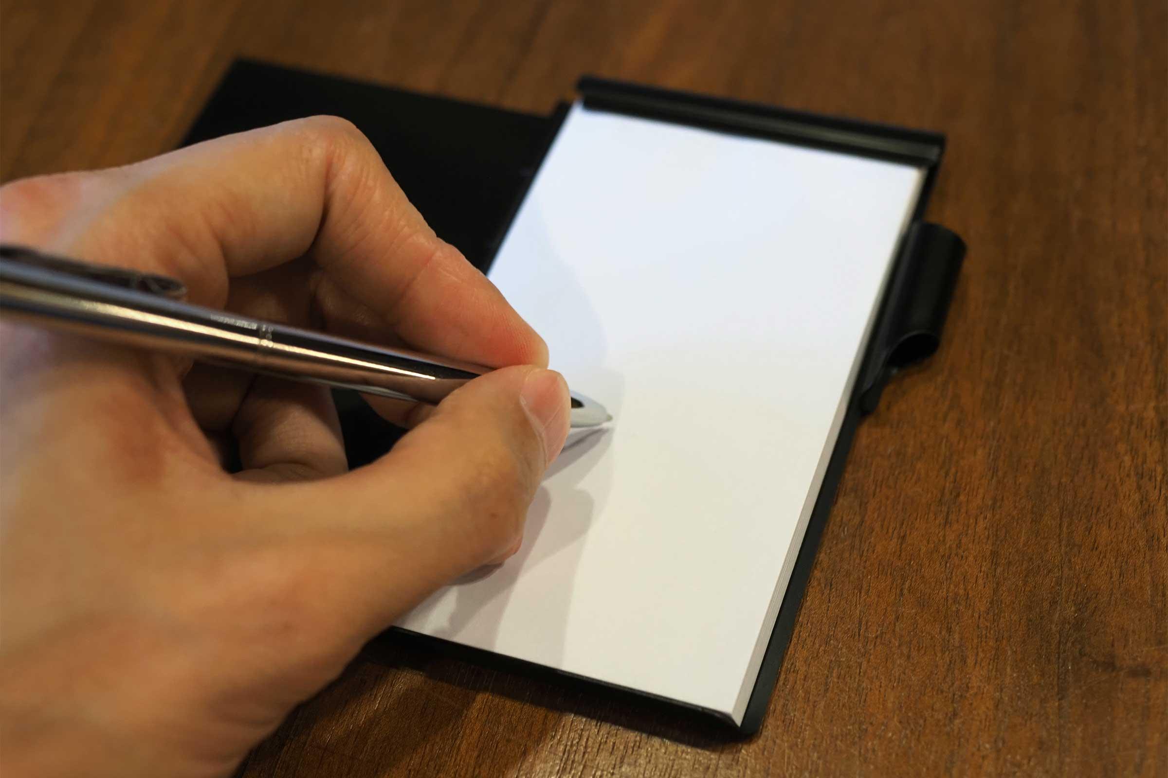 フリップノート,Flip Note,メモ帳,ノート,手書き,コンパクト,ボールペン,コスパ,書きやすい