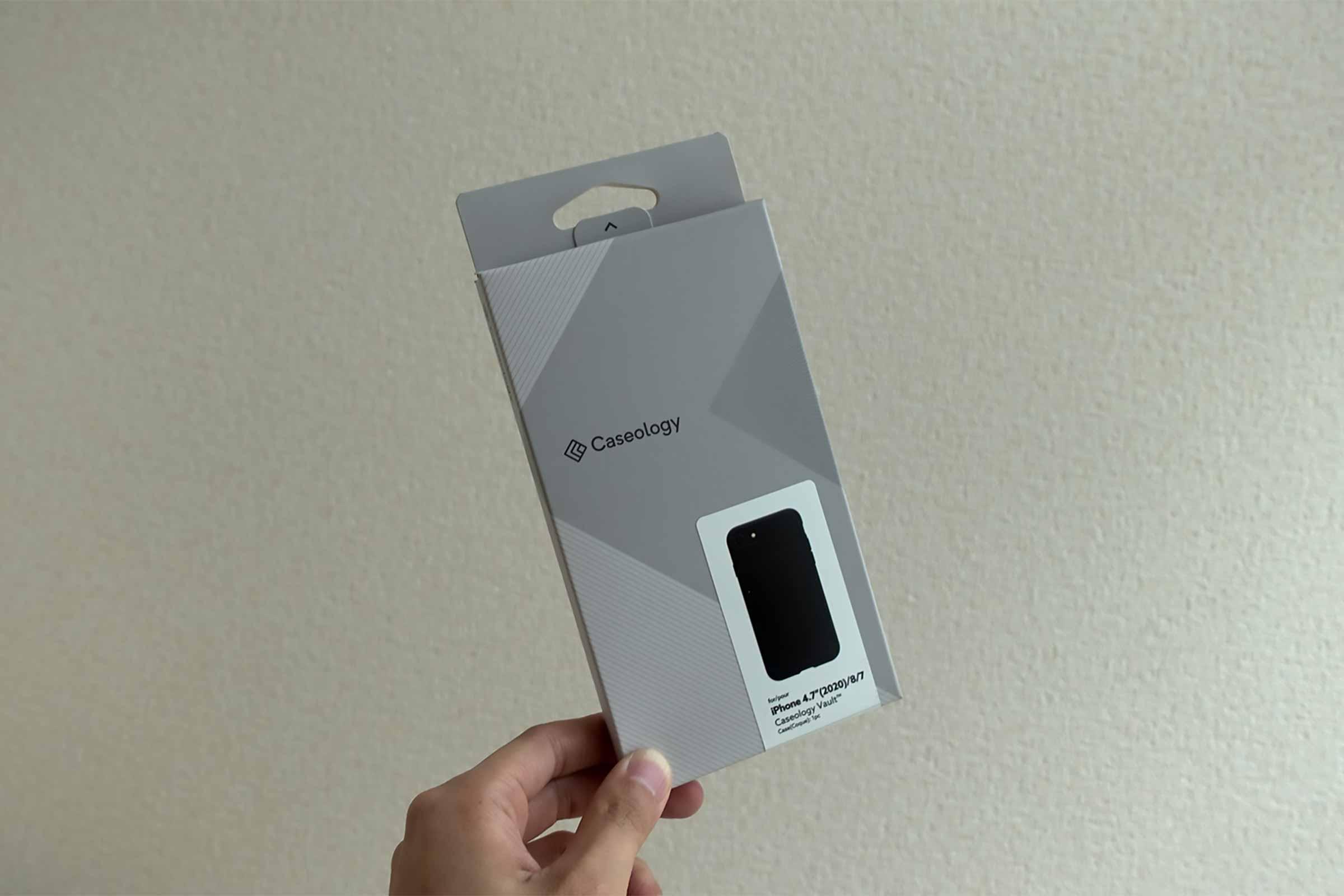 iPhoneケース,スマホケース,iPhone SE2,ヴォールト,黒,安い,コスパ,丈夫
