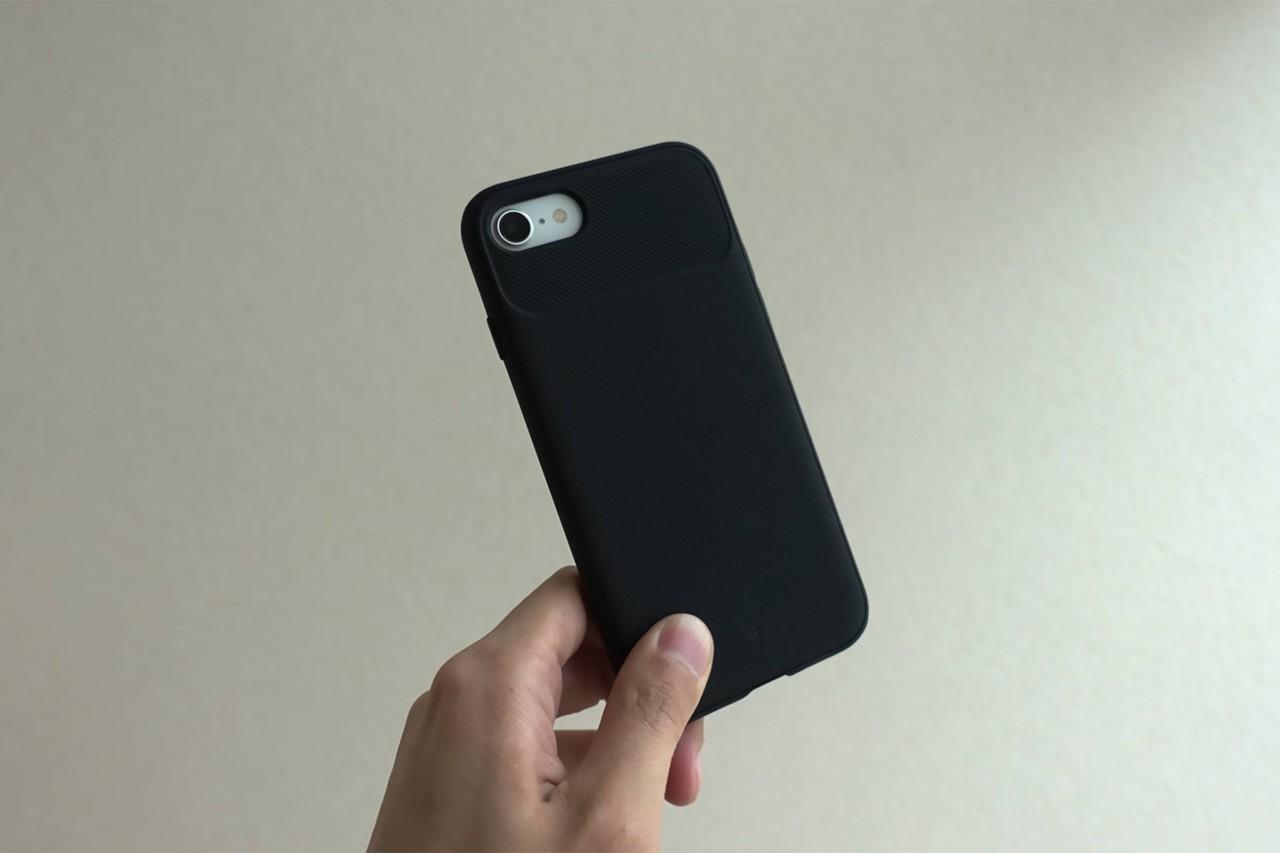 iPhoneケース,スマホケース,iPhone SE2,ヴォールト,黒,安い,コスパ,お洒落