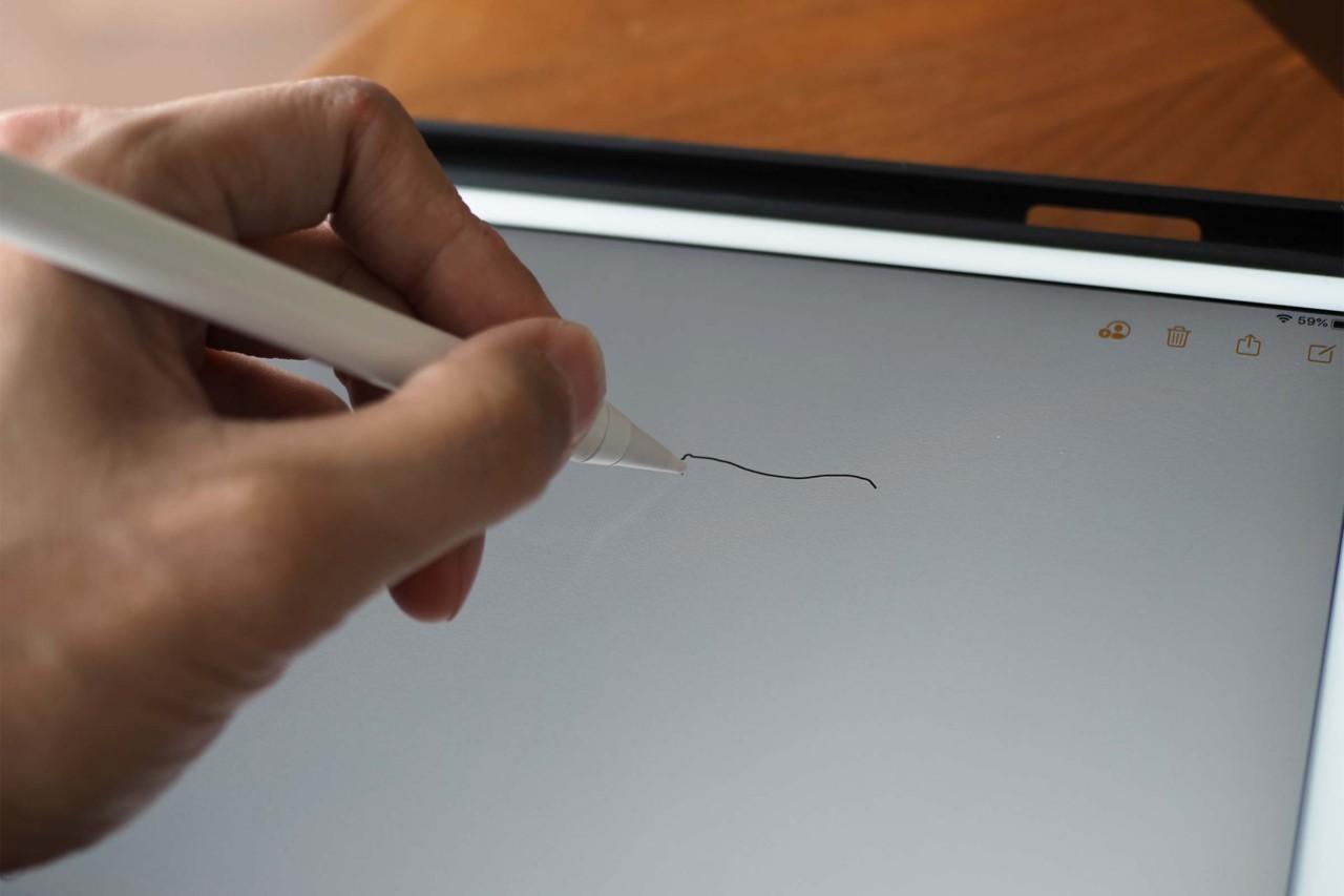 スタイラスペン,iPad,mpio,Apple Pencil,タッチペン,第三世代,書き心地