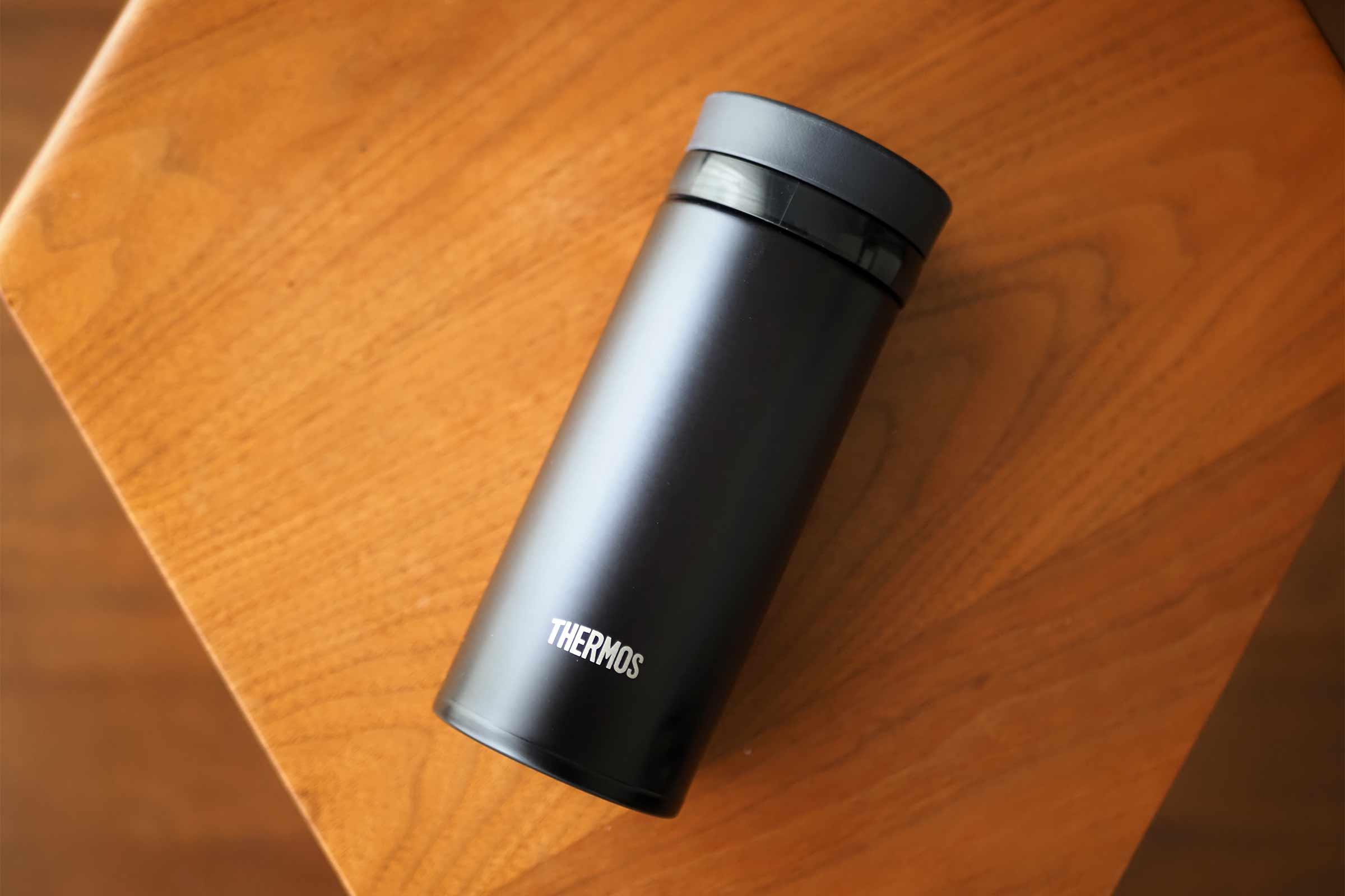 水筒,サーモス,thermos,ネイビー,コンパクト,スリム,250ml,便利