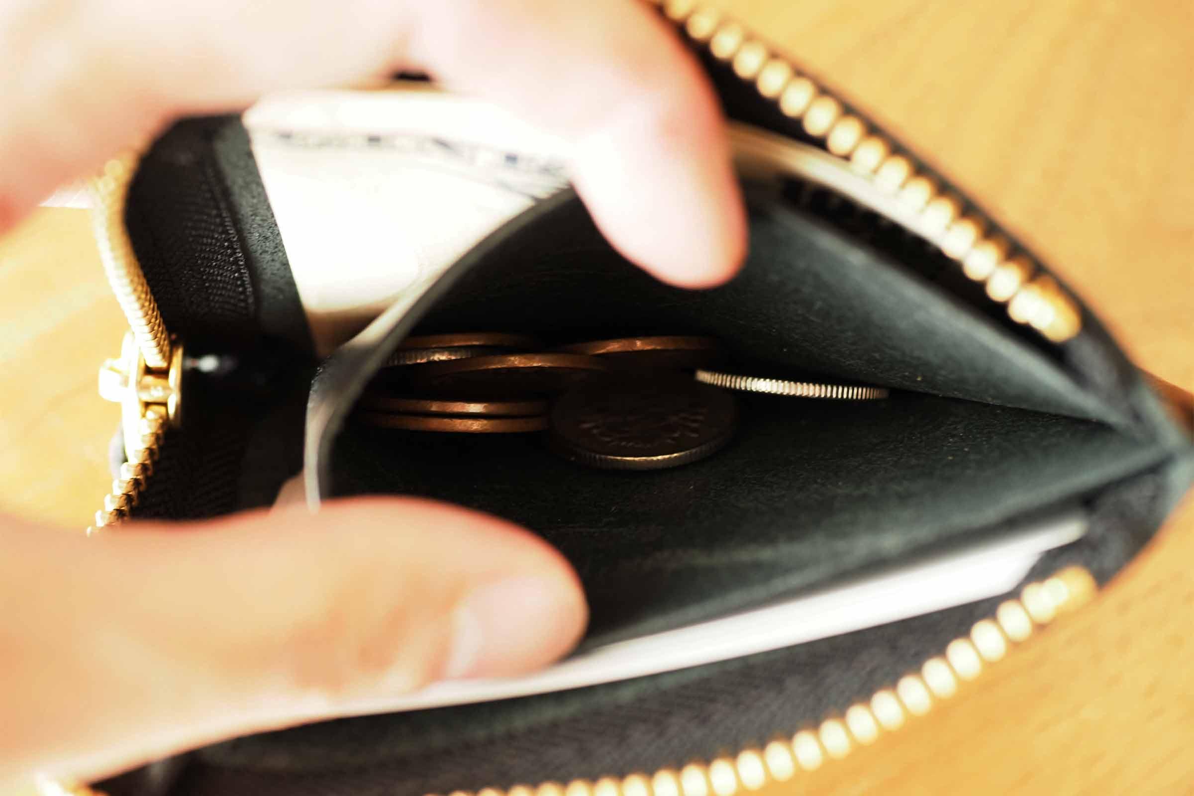 財布,ミニ財布,メンズ,栃木レザー,本革,小さい,薄い,大容量