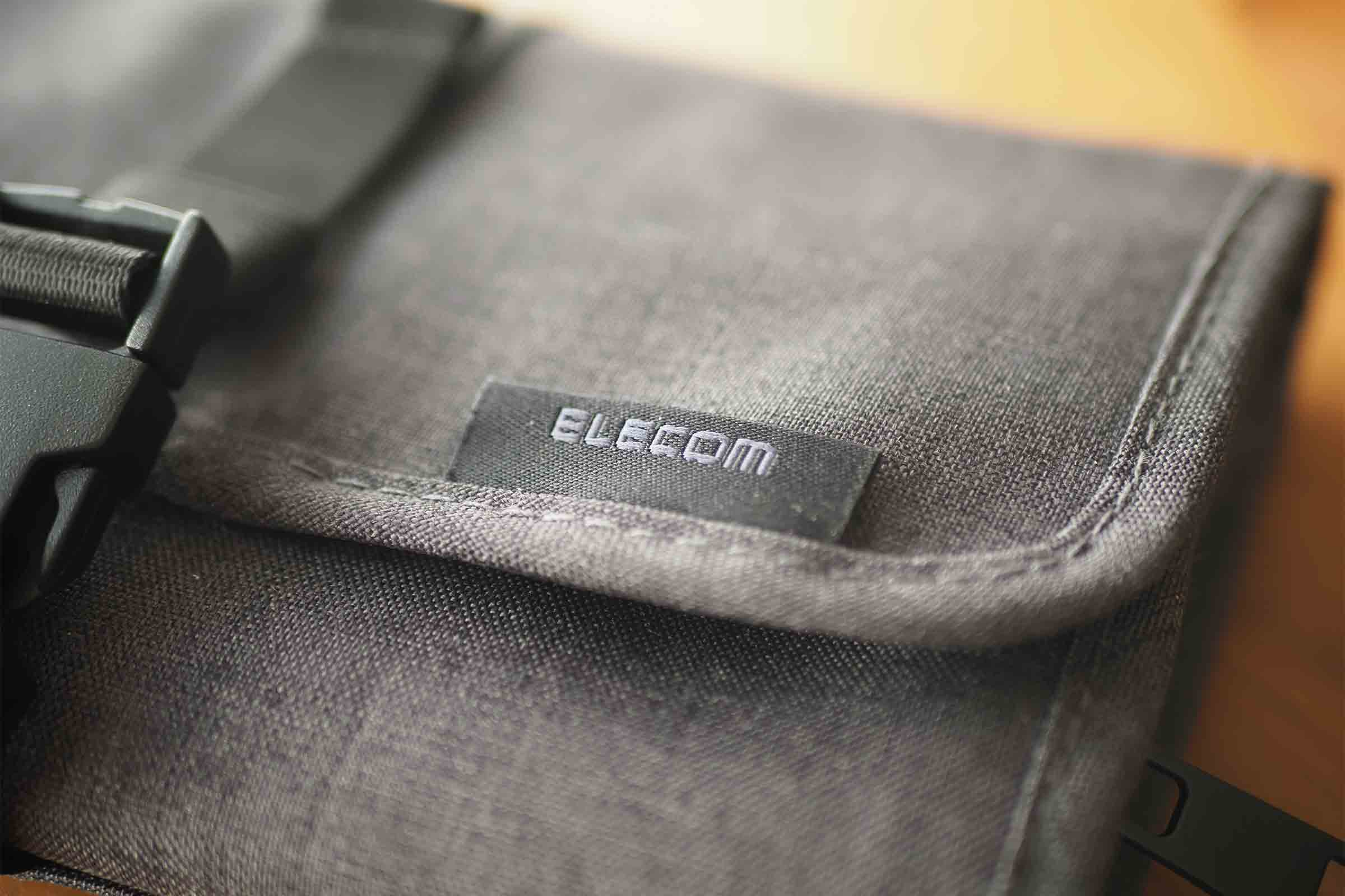 エレコム,ELECOM,ガジェットポーチ,マルチポーチ,便利,タグ