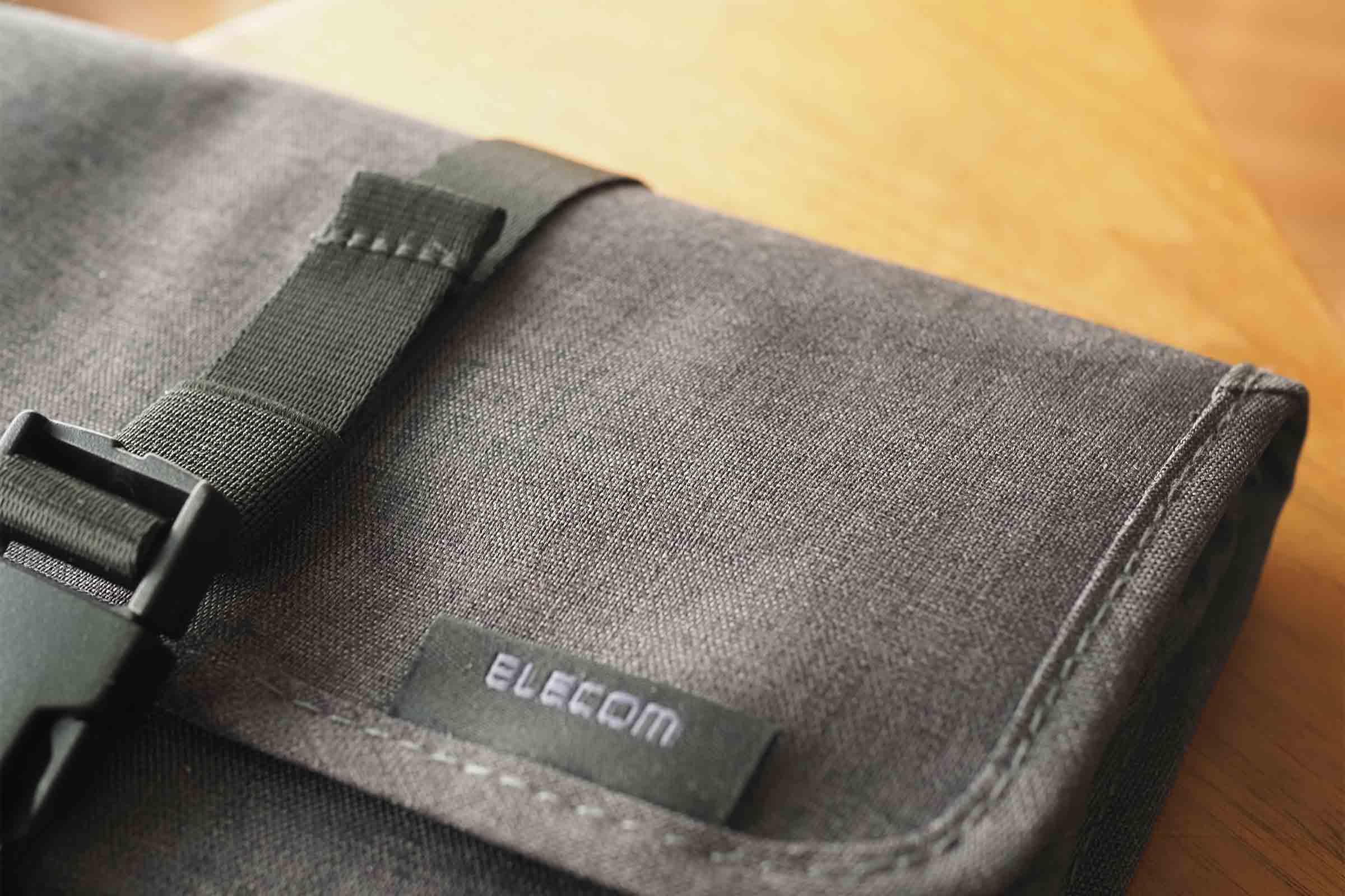 エレコム,ELECOM,ガジェットポーチ,マルチポーチ,便利,素材