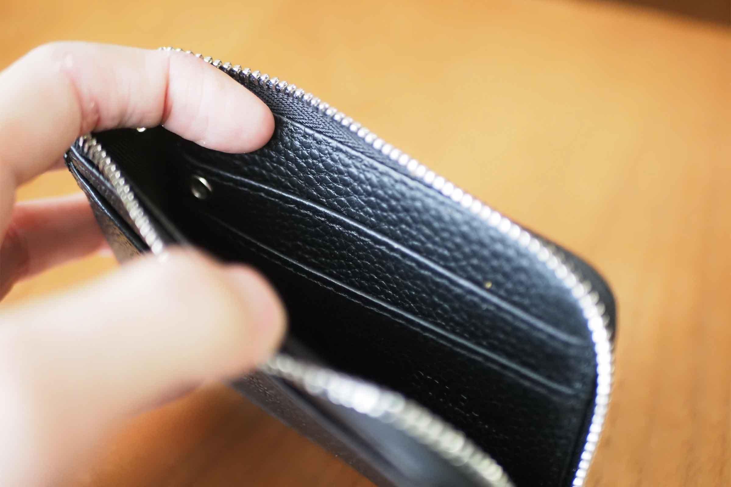 ミニ財布,リスキーモデル,risky,コンパクト,小さい,安い,コスパ,収納