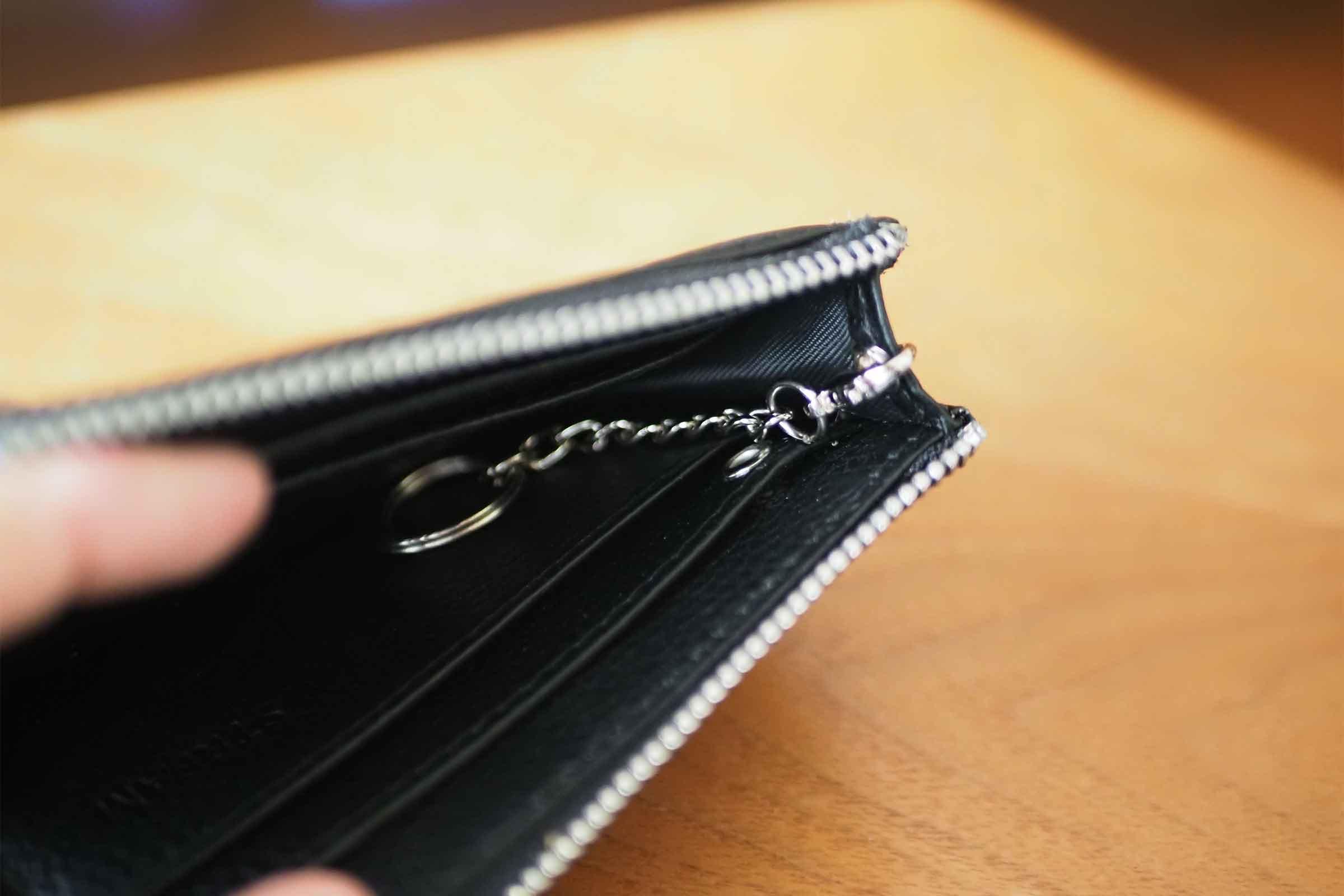 ミニ財布,リスキーモデル,risky,コンパクト,小さい,安い,コスパ,キー