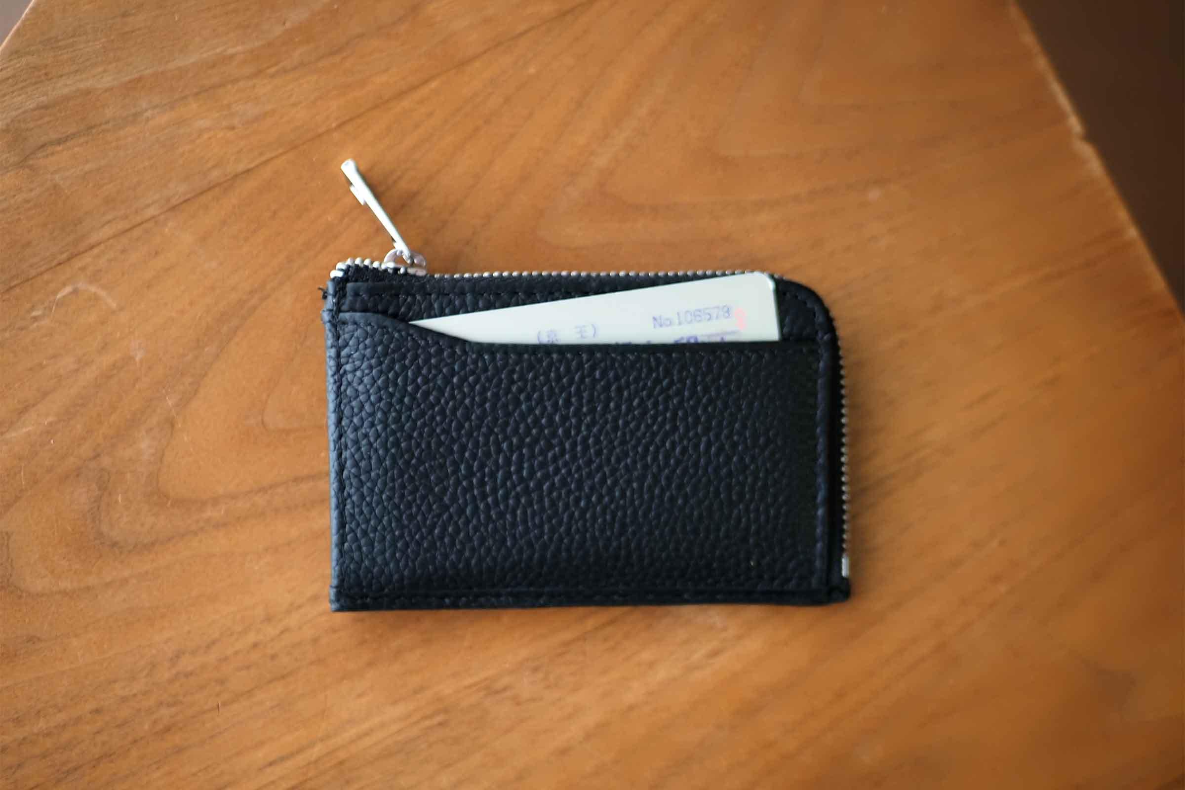 ミニ財布,リスキーモデル,risky,コンパクト,小さい,安い,コスパ,ICカード
