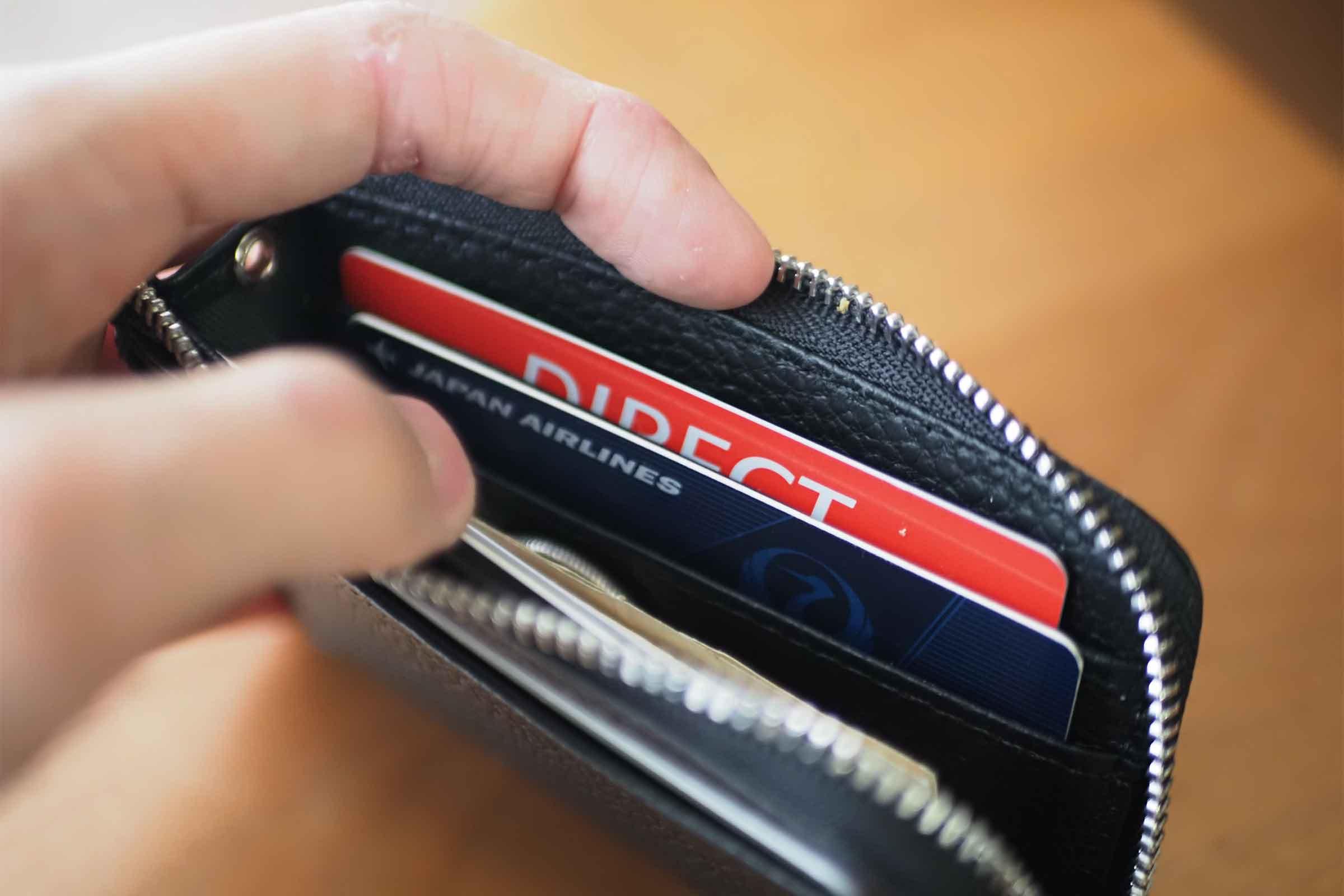 ミニ財布,リスキーモデル,risky,コンパクト,小さい,安い,コスパ,カード入れ