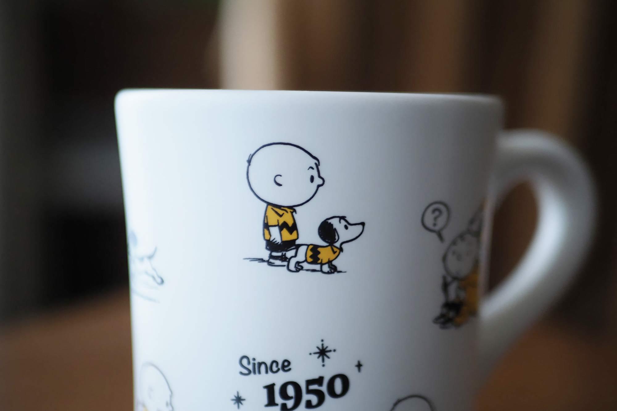 スヌーピー,70周年記念,マグカップ,可愛い,人気,コーヒー,紅茶,安い