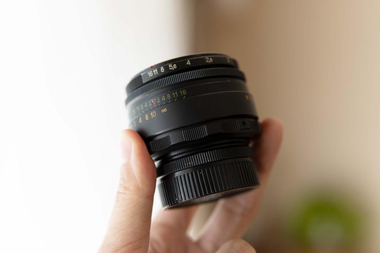 カメラ,レンズ,オールドレンズ,ヘリオス44-2,軽い