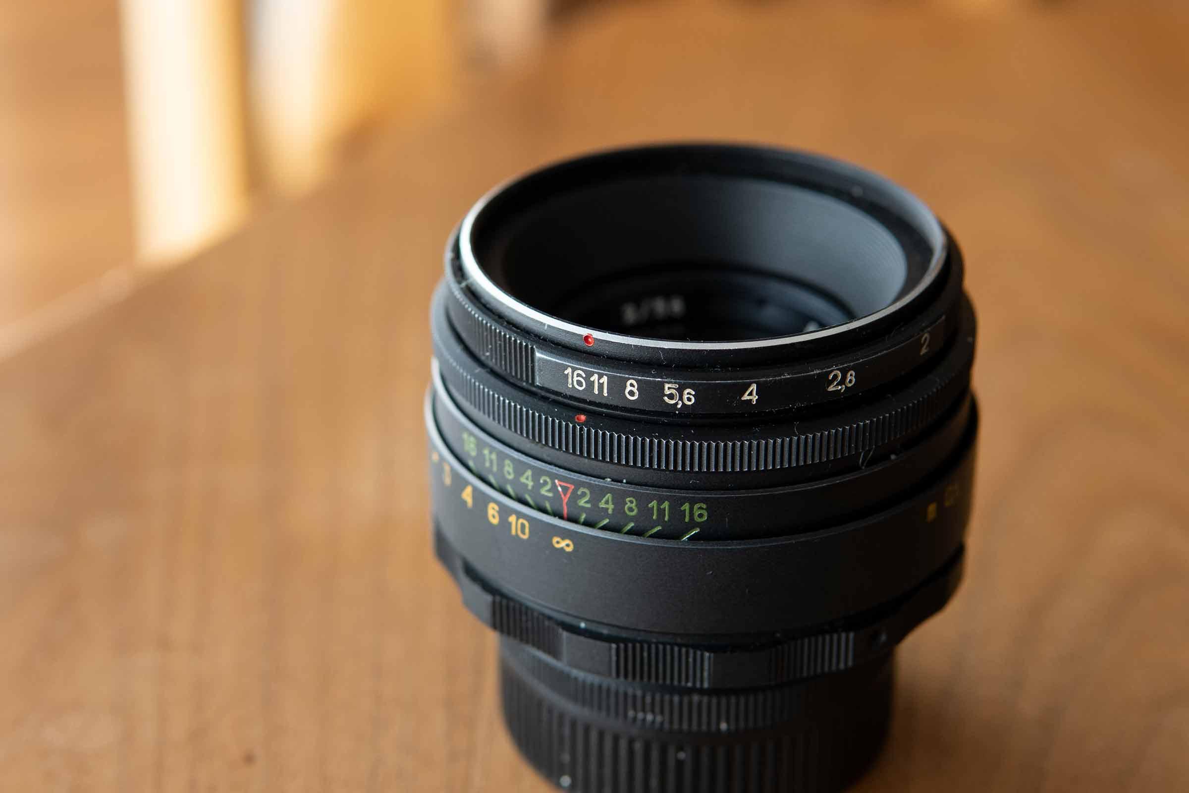 カメラ,レンズ,オールドレンズ,ヘリオス44-2,絞り
