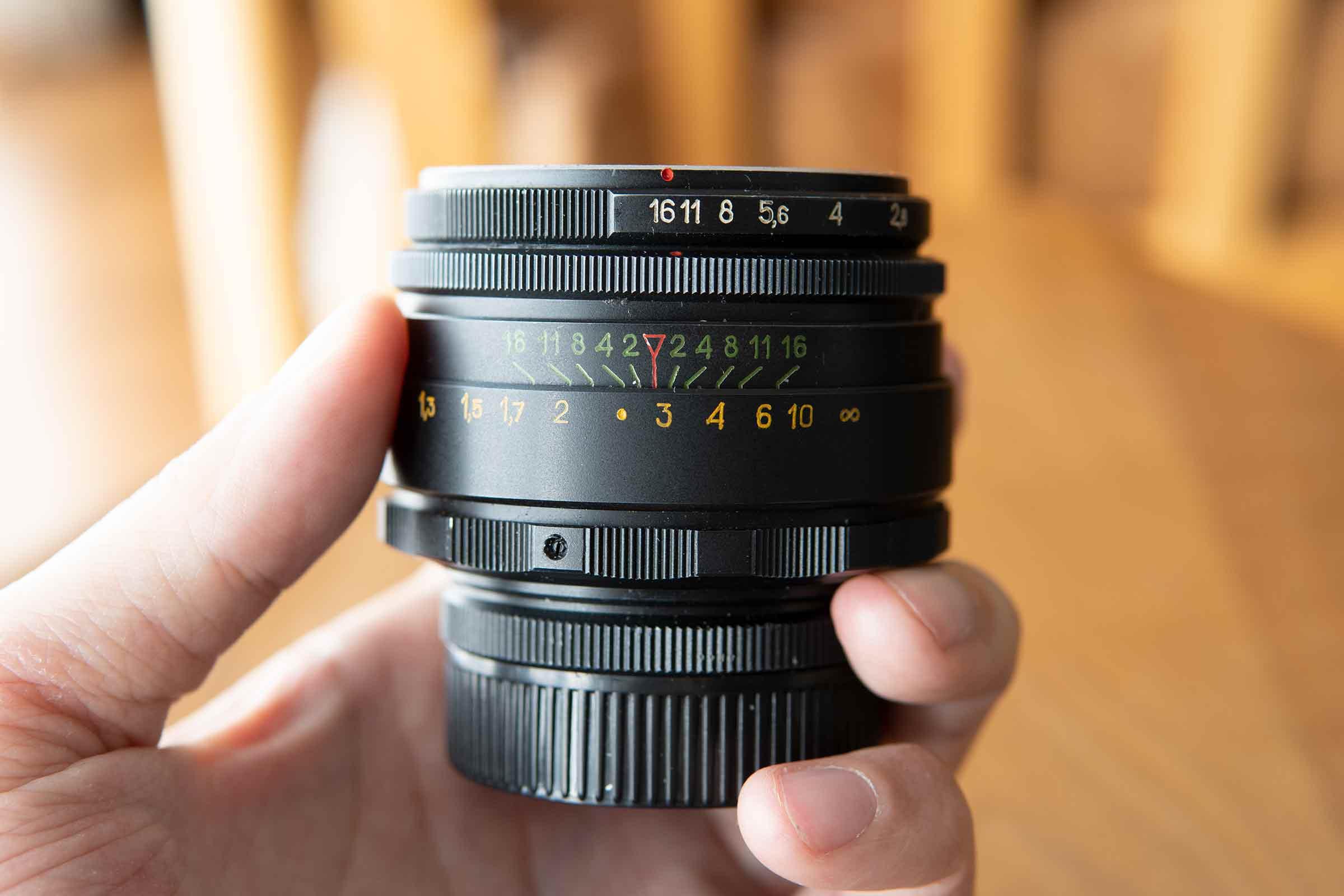 カメラ,レンズ,オールドレンズ,ヘリオス44-2,ピントリング