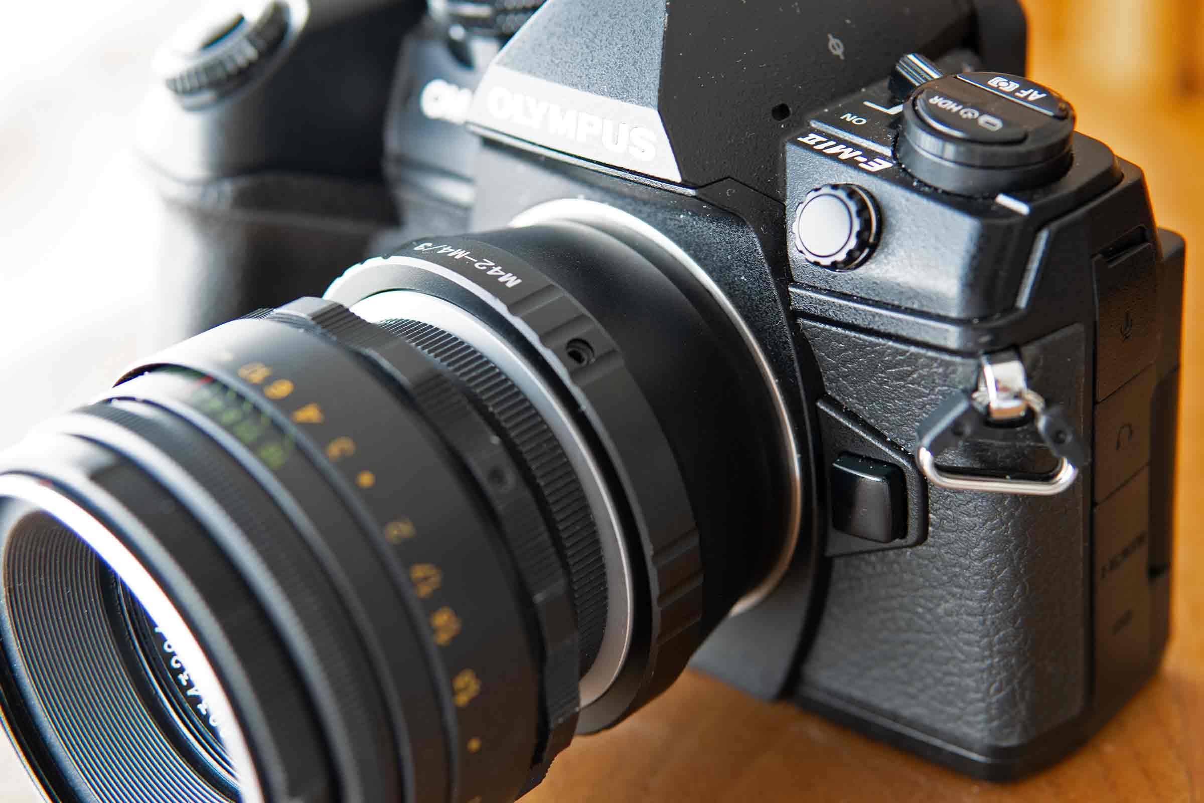 カメラ,レンズ,オールドレンズ,ヘリオス44-2,マウントアダブター