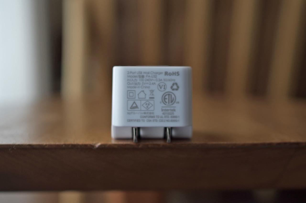 AUKEY,オーキー,充電器,急速充電,USB,2ポート,小型,軽量,プラグ