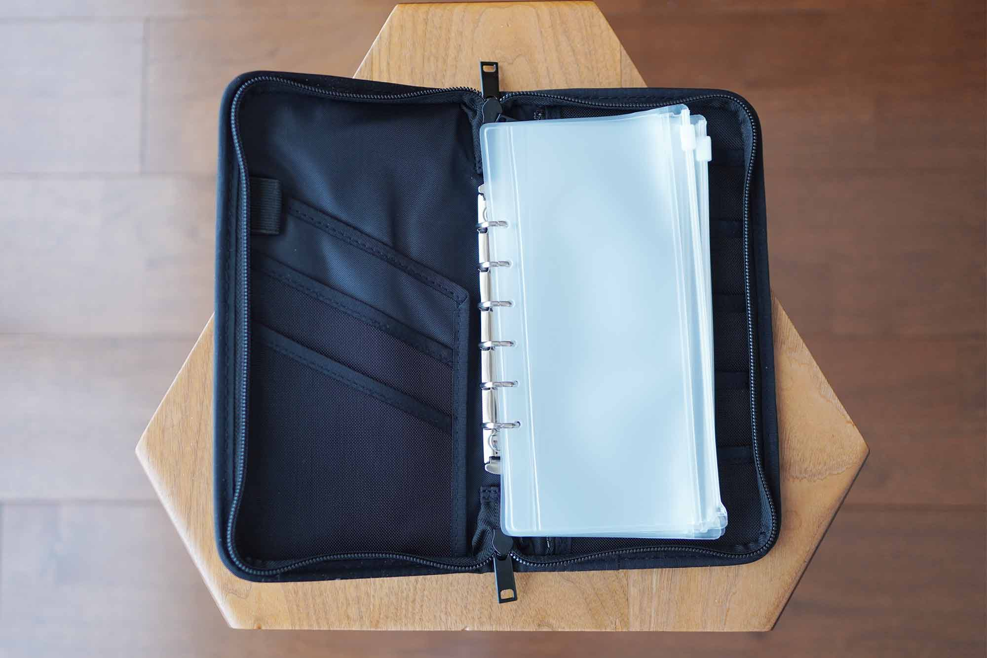 無印良品,パスポートケース,収納,便利,通帳,安い,クリアポケット
