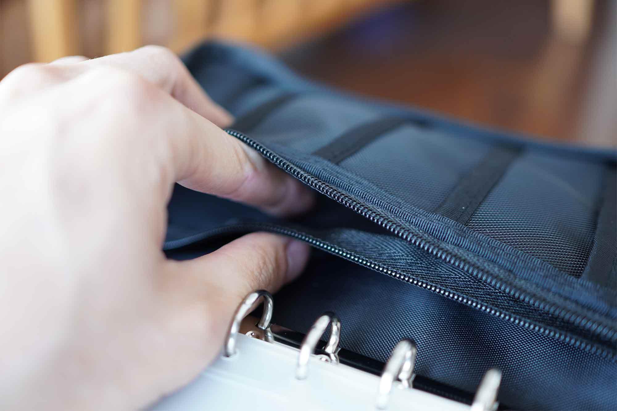 無印良品,パスポートケース,収納,便利,通帳,安い,ポケット