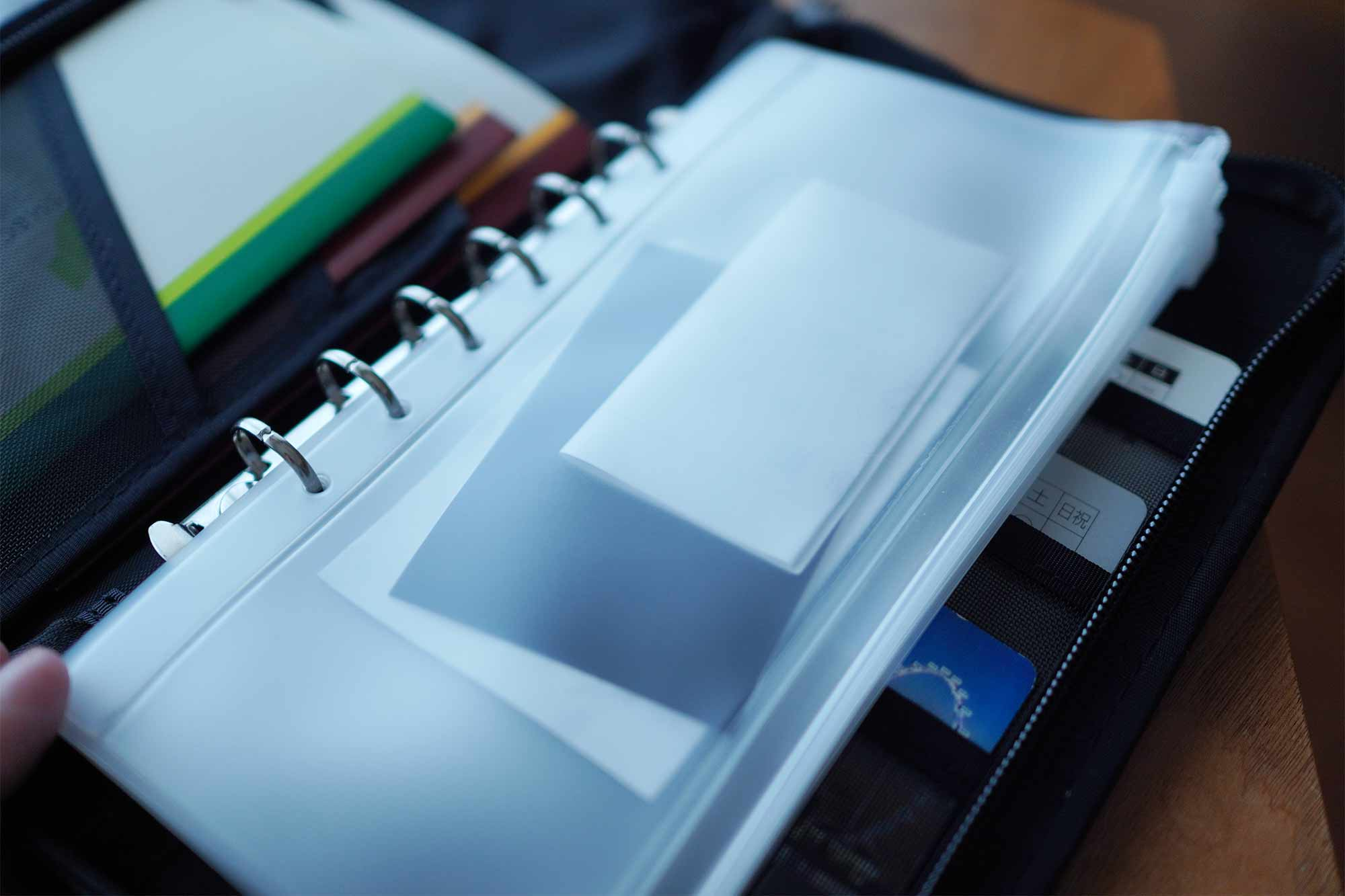 無印良品,パスポートケース,収納,便利,通帳,安い,領収書