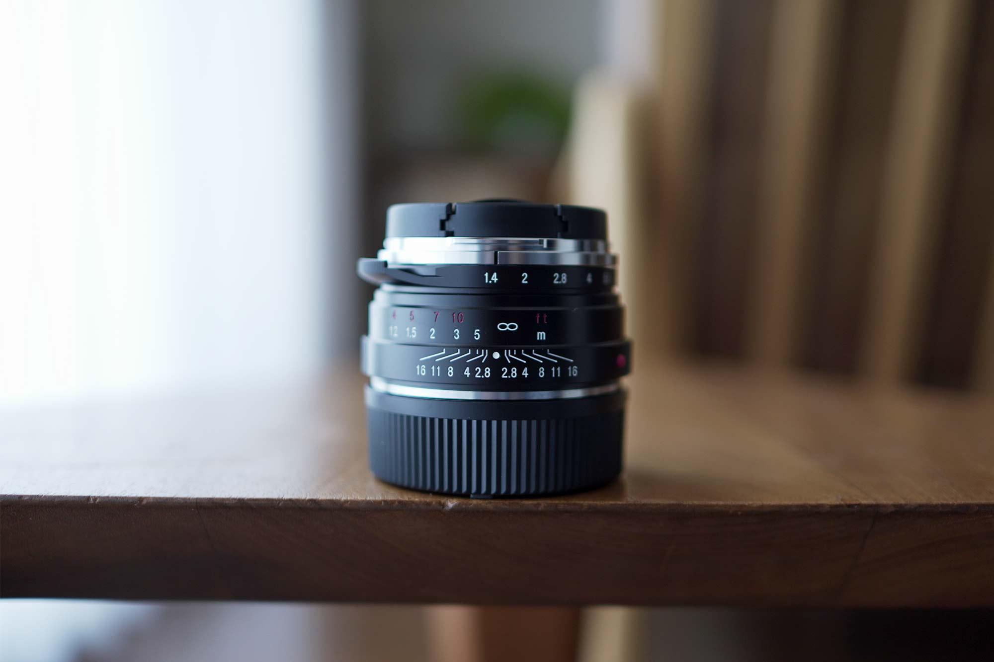 フォクトレンダー,カメラ,レンズ,クラシック,オールドレンズ,40mm,f1.4,小さい