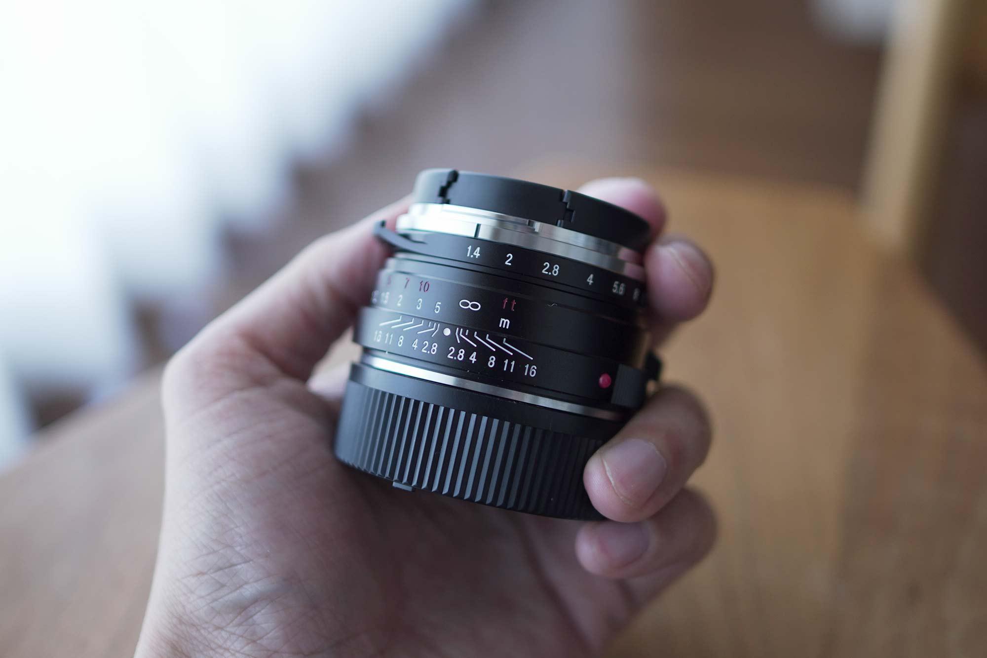 フォクトレンダー,カメラ,レンズ,クラシック,オールドレンズ,40mm,f1.4,軽い
