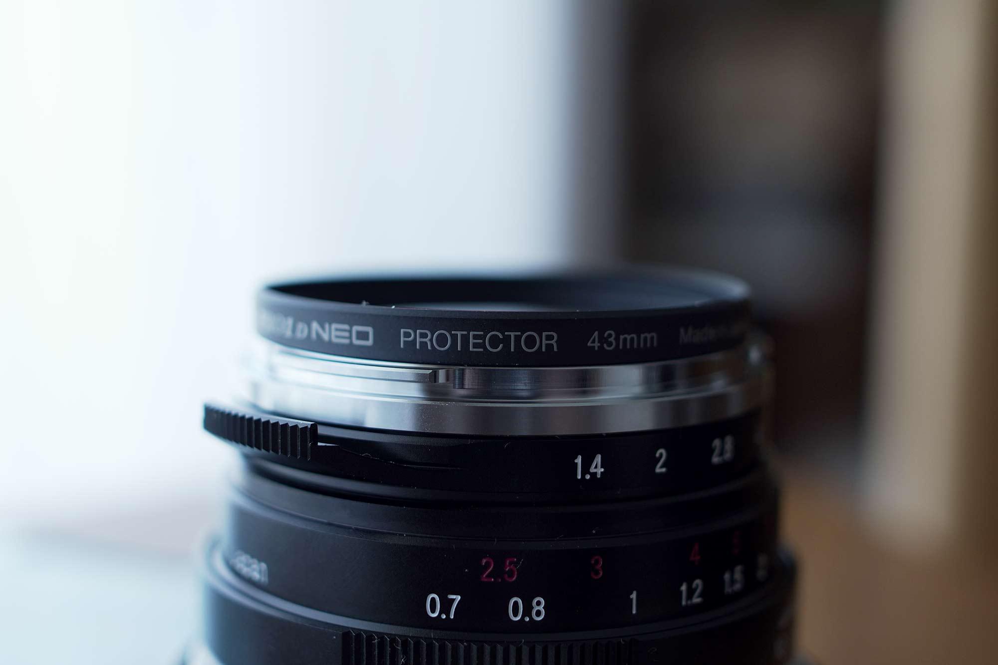 フォクトレンダー,カメラ,レンズ,クラシック,オールドレンズ,40mm,f1.4,フィルター