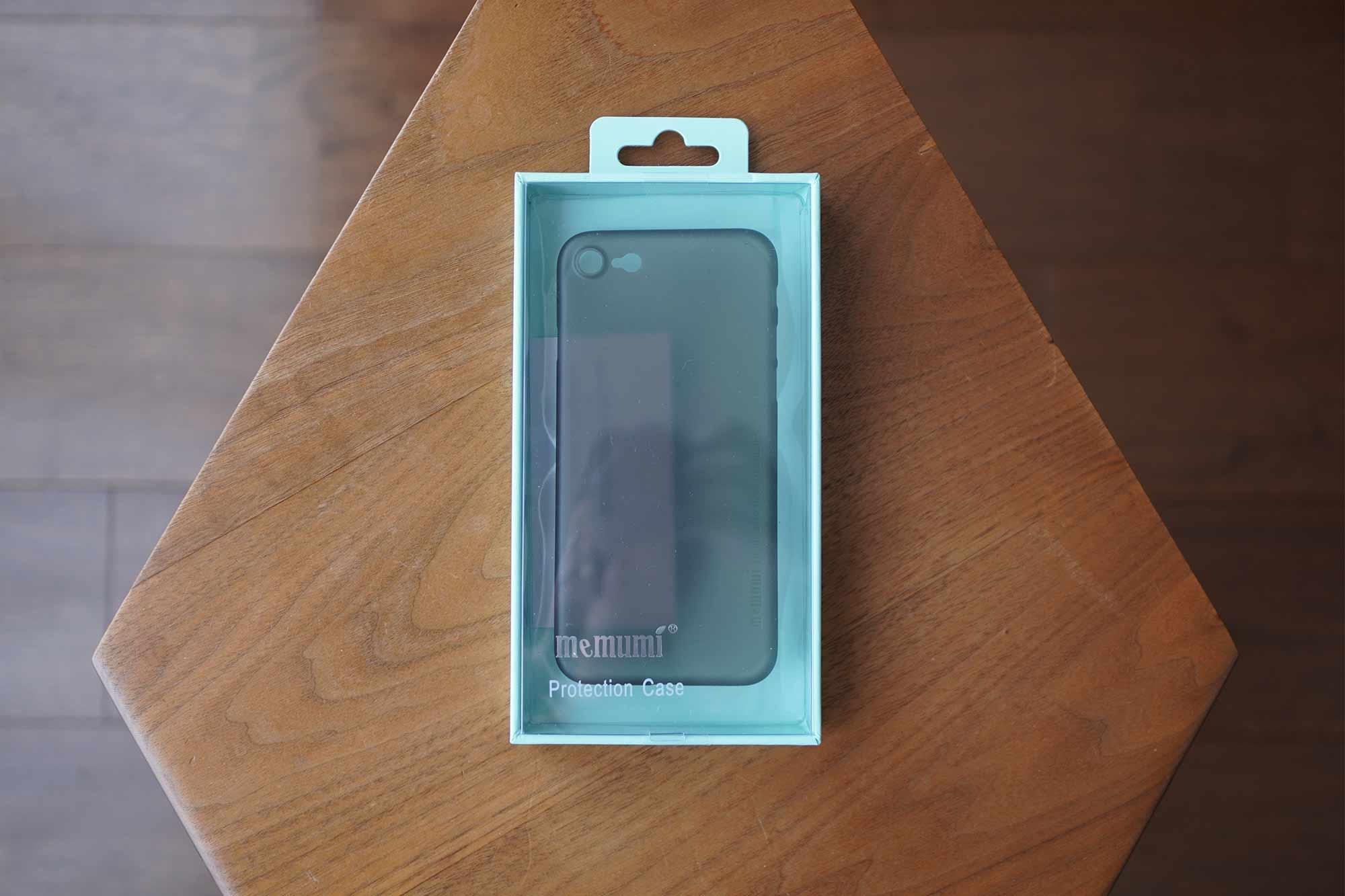 iPhone SE,iPhone 8,iPhone7,ケース,最薄型,最軽量,memumi,パッケージ