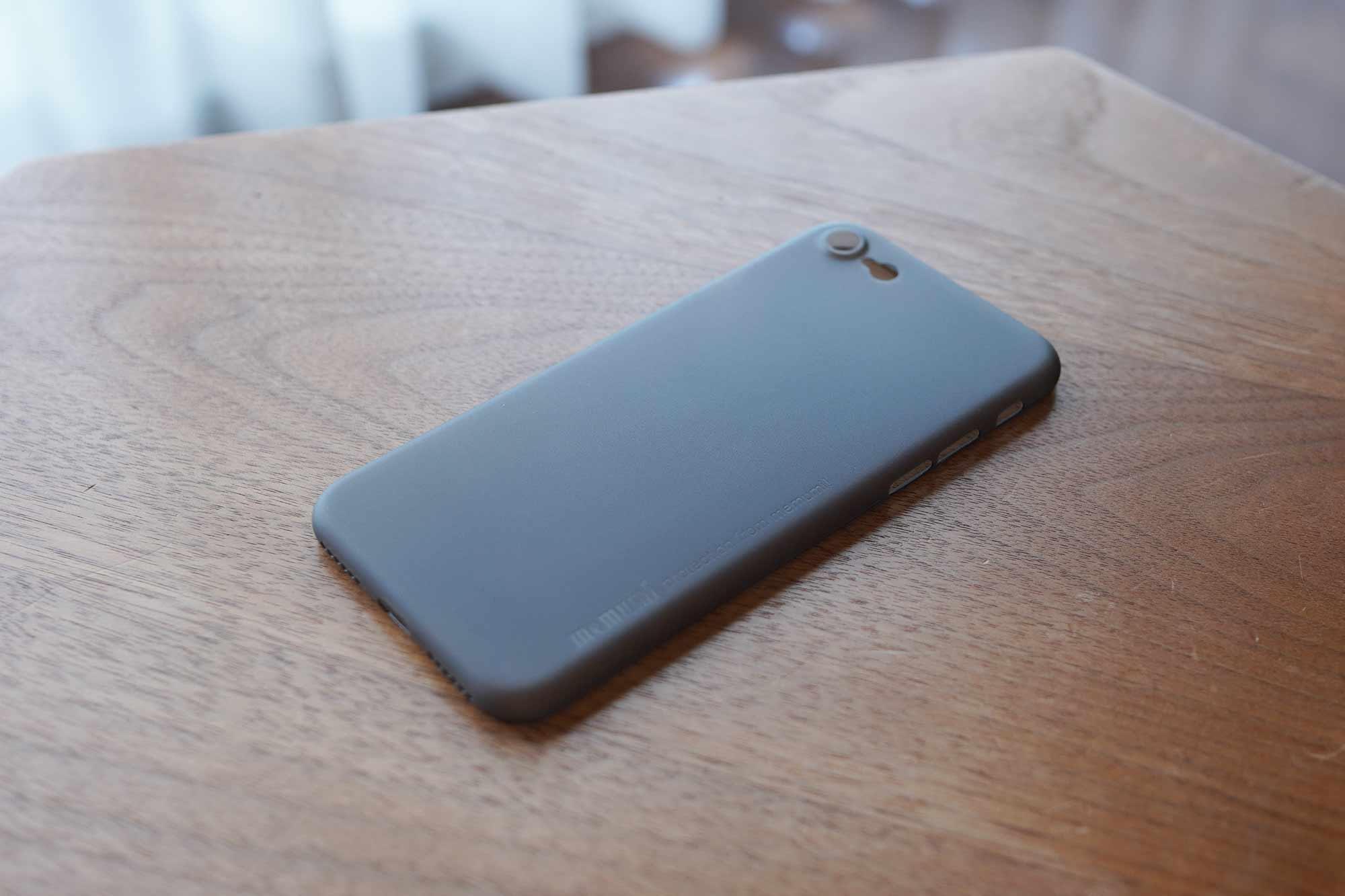 iPhone SE,iPhone 8,iPhone7,ケース,最薄型,最軽量,memumi,軽い
