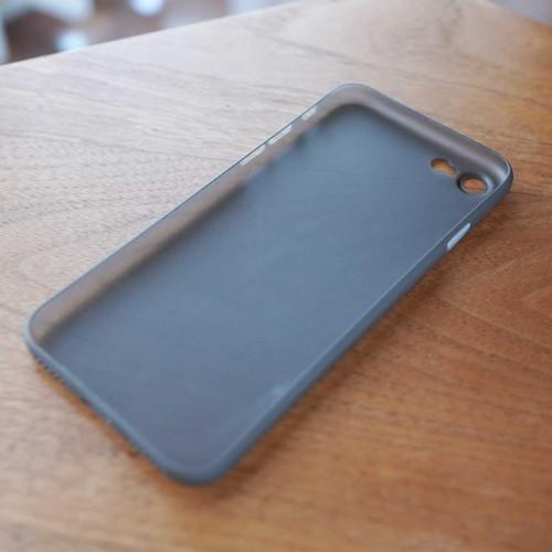 iPhone SE,iPhone 8,iPhone7,ケース,最薄型,最軽量,memumi,クリアブラック