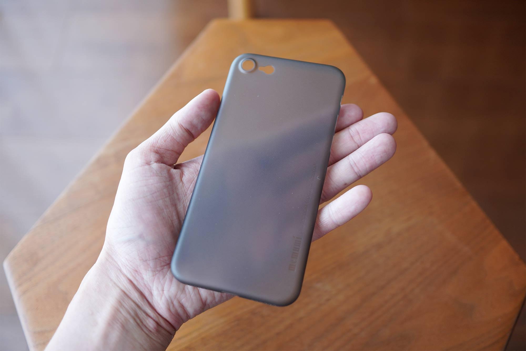 iPhone SE,iPhone 8,iPhone7,ケース,最薄型,最軽量,memumi,透明