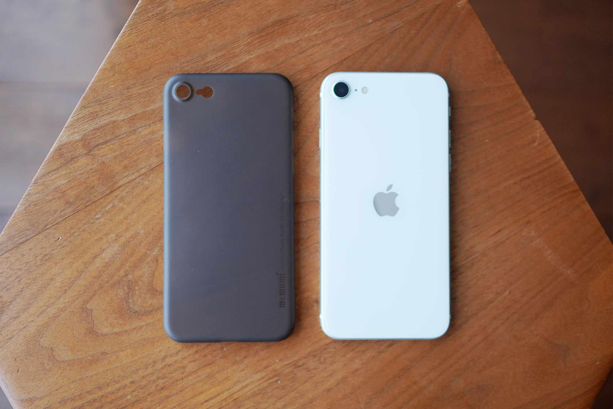 iPhone SE,iPhone 8,iPhone7,ケース,最薄型,最軽量,memumi,