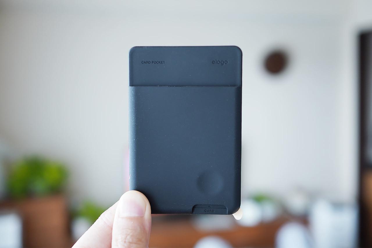 elago,背面ポケット,カードホルダー,カードポケット,お洒落,使いやすい,安い,軽い