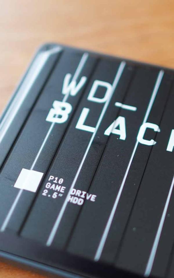 ウエスタンデジタル,WD,HDD,外付け,安定,高速,コスパ,格好いい,ブラック