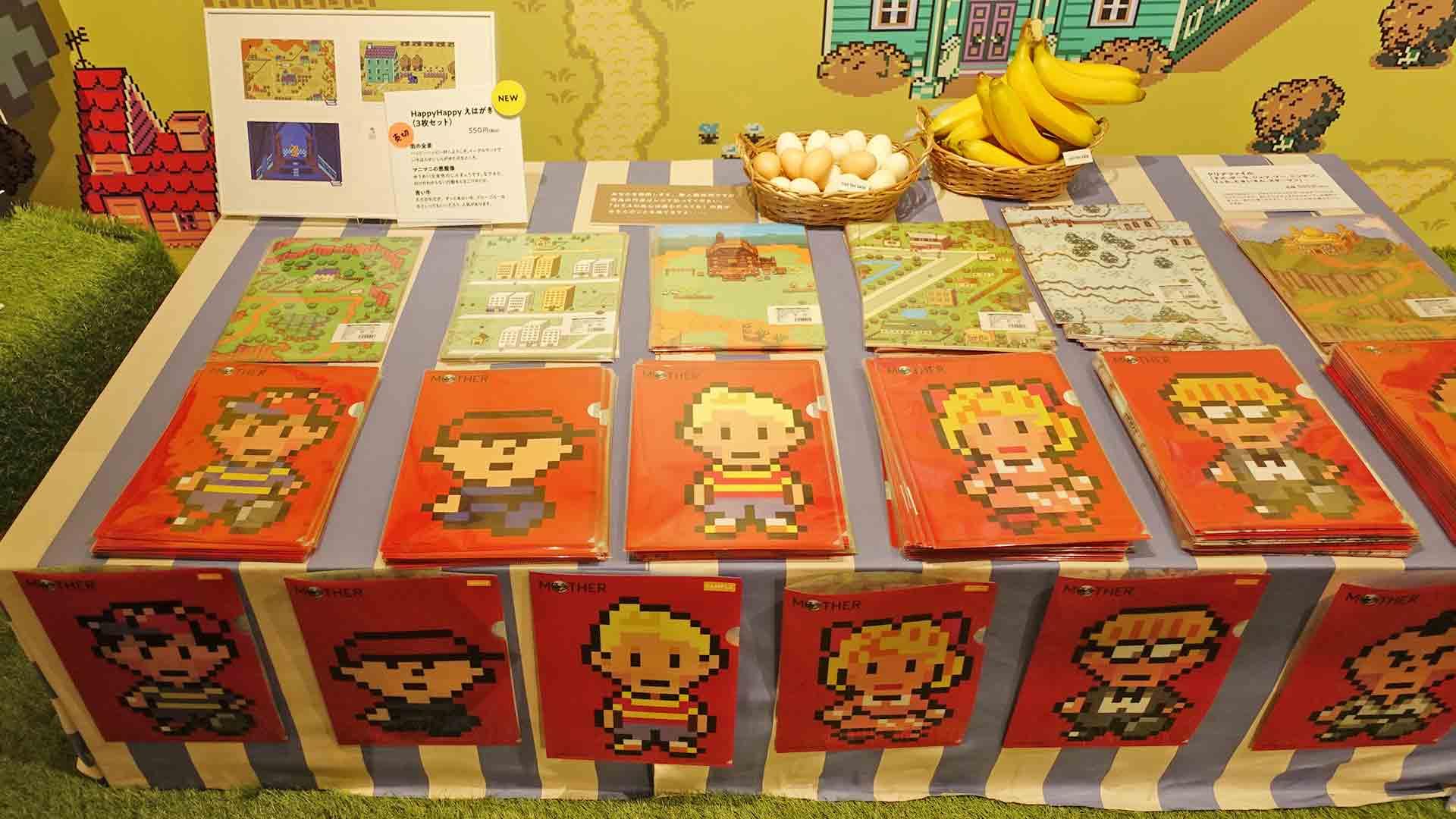 MOTHER2,MOTHERのひろば,ほぼ日,渋谷パルコ,イベント,レトロゲーム,ネス,クリアファイル