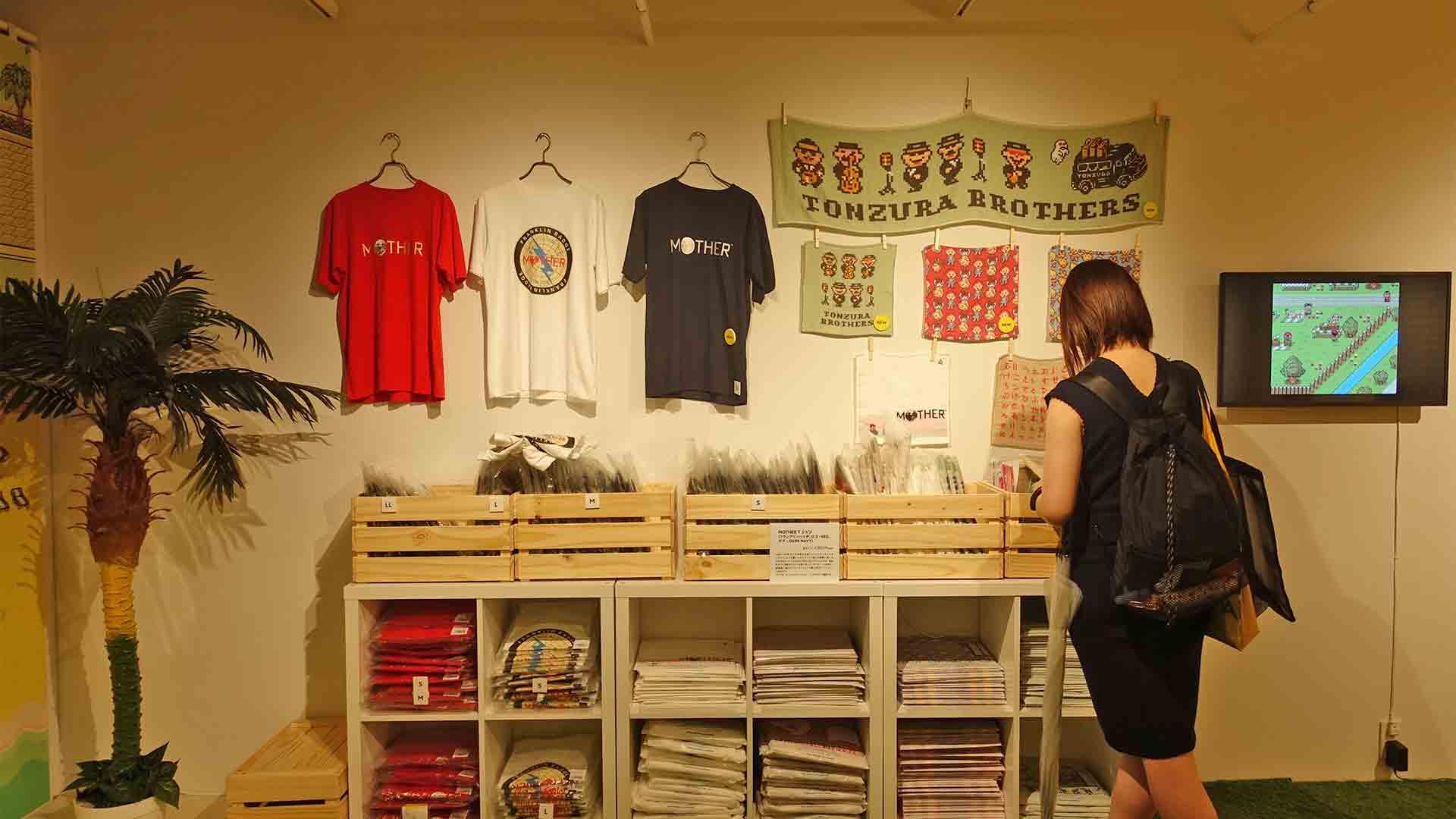 MOTHER2,MOTHERのひろば,ほぼ日,渋谷パルコ,イベント,レトロゲーム,Tシャツ