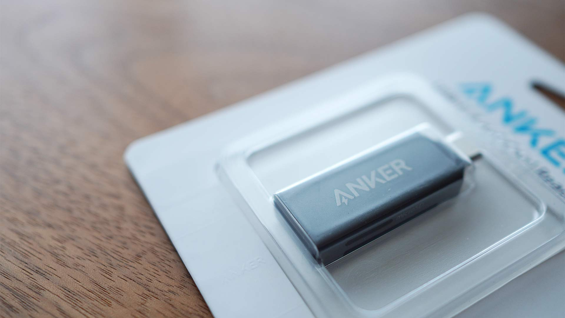 SDカードリーダー,メモリーカードリーダー,Anker,小さい,microsd,sd,