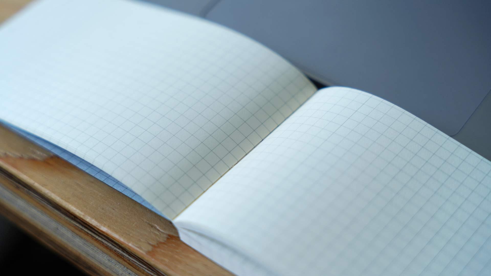 ノート,テレワーク,会議,grid,グリッド,PC用ノート,横型,方眼