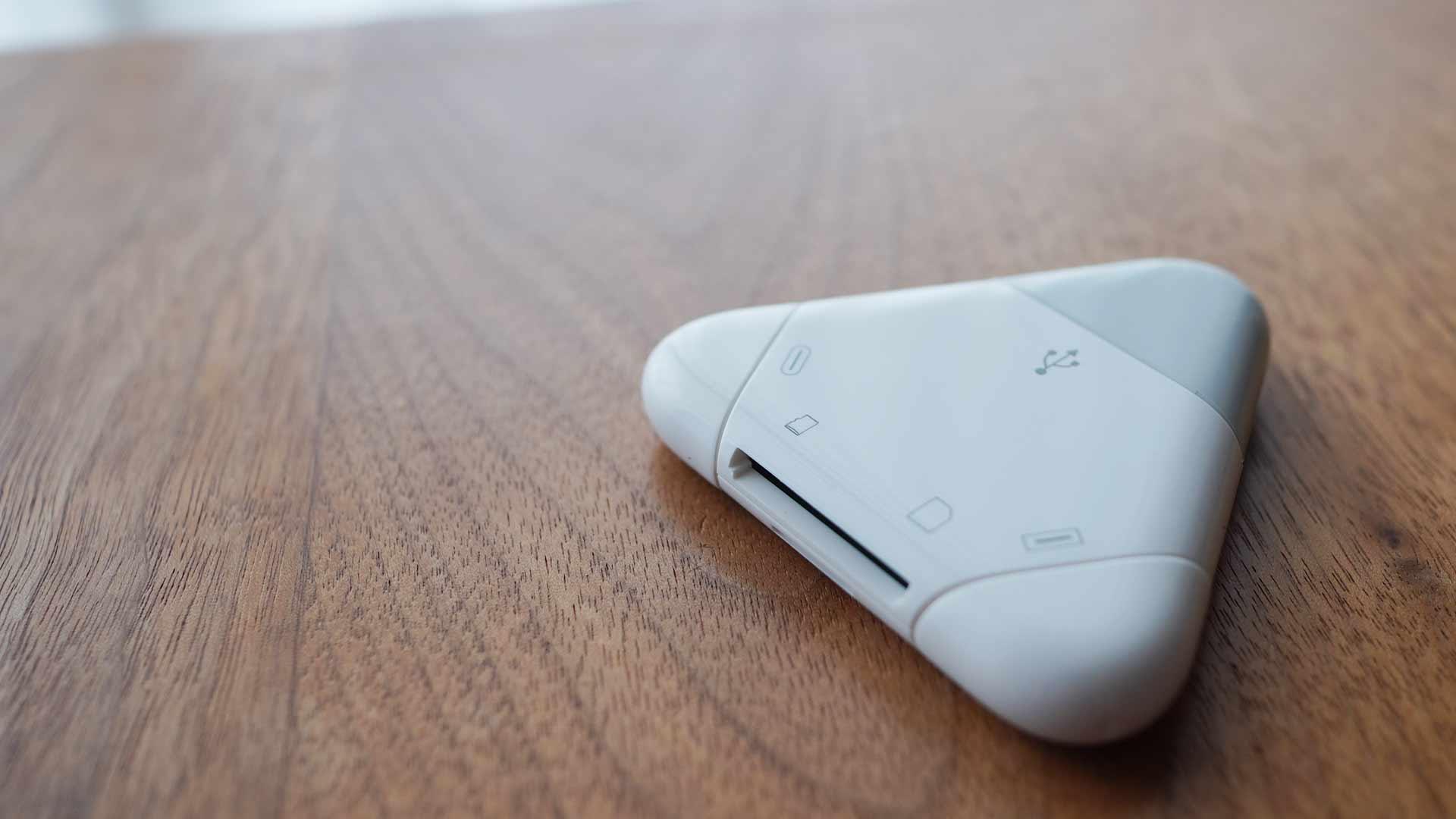 マルチカードリーダー,SDカード,USB,micro USB,Lightning,便利